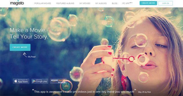 Тренды веб-дизайна 2014: Большие изображения. Пример сайта