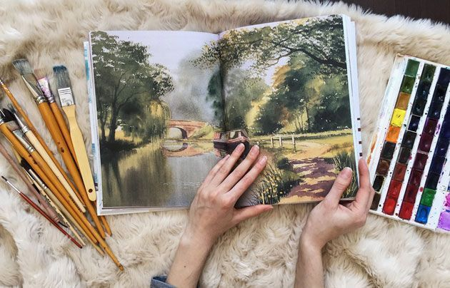 «Акварельные пейзажи» – Терри Харрисон