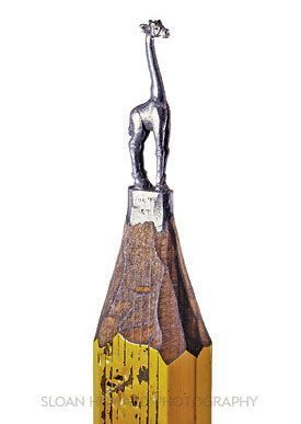Карандашные скульптуры Далтона Гетти