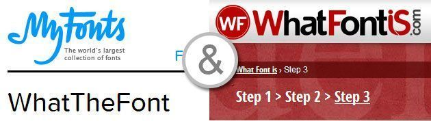 Онлайн инструменты для распознавания шрифта