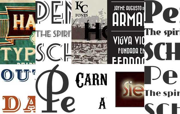 10 свежих бесплатных шрифтов в стиле ретро