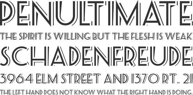Бесплатных шрифтов в стиле ретро