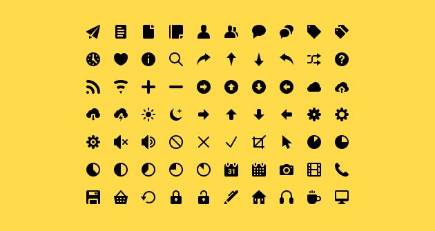 Бесплатные SVG иконки
