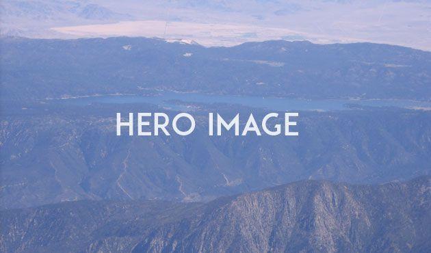 Тренды веб-дизайна 2014: Большие изображения