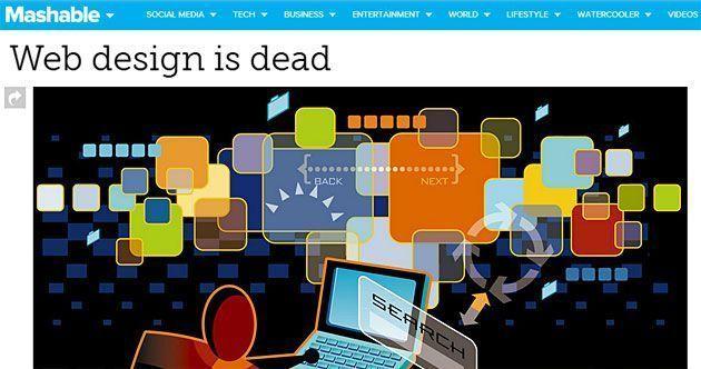 Веб-дизайн умер?