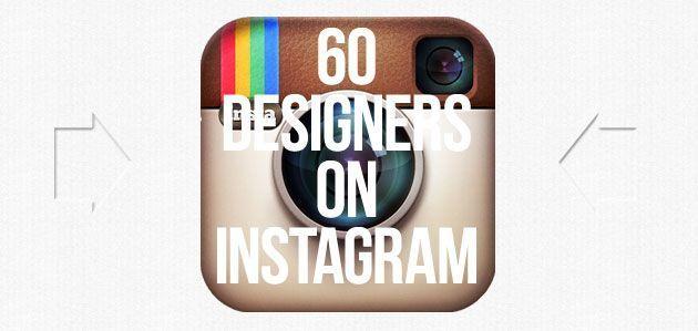 60 дизайнеров в Инстаграм