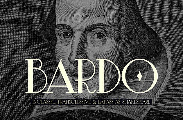 Bardo — классический элегантный ретро шрифт