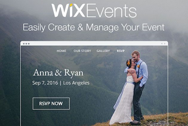 Приложение Wix Events
