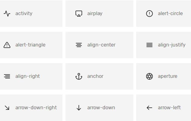 240 бесплатных иконок в формате SVG