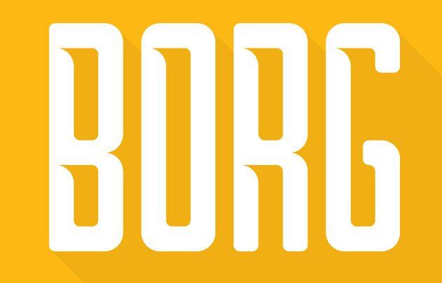 Borg Typeface