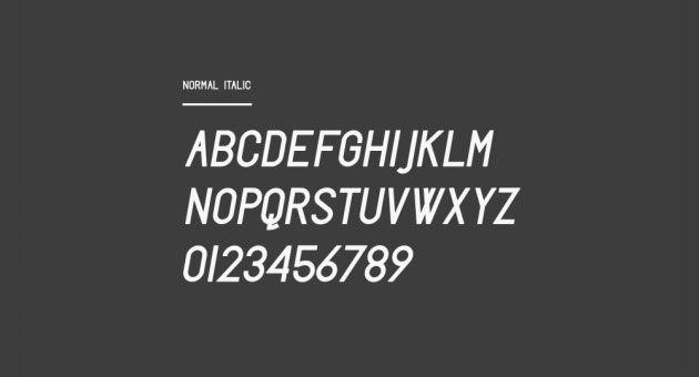 Freschezza Typeface