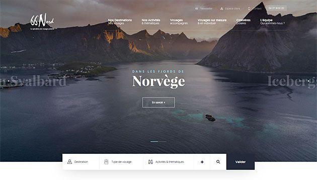 Идеальный дизайн туристического сайта